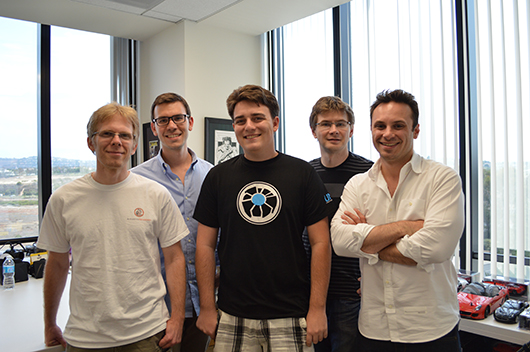 Palmer, Brendan, John and the Oculus team