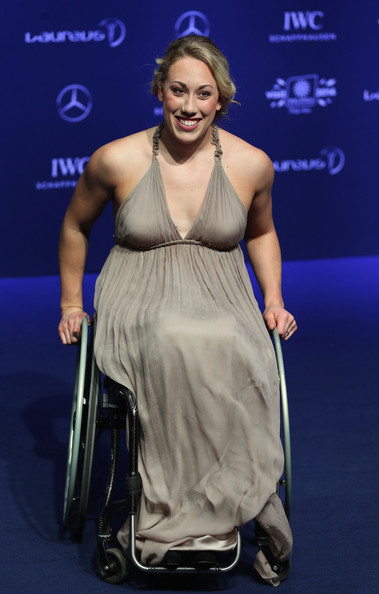 Swimmer Sarah Louise Rung attends the 2014 Laureus World Sports Awards at the Istana Budaya Theatre on March 26, 2014 in Kuala Lumpur, Malaysia.