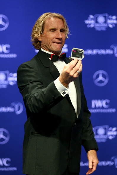 Laureus Academy member Robby Naish attends the 2014 Laureus World Sports Awards at the Istana Budaya Theatre on March 26, 2014 in Kuala Lumpur, Malaysia.