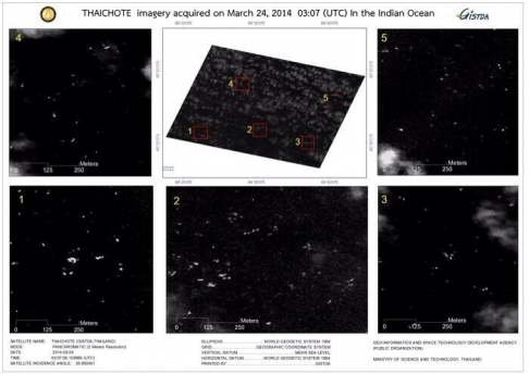 Thai Satellite Spots 3,000 Floating Objects 200km Away From MH370 Search Area