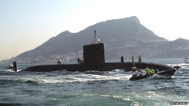 "HMS Tireless has ""advanced underwater search capabilities"", the MoD said"