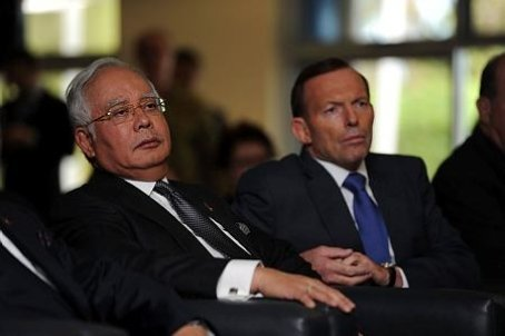 Najib and Tony Abbott