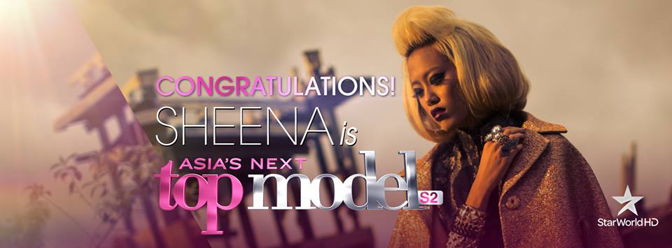 Sheena Liam wins Asia's Next Top Model cycle 2.