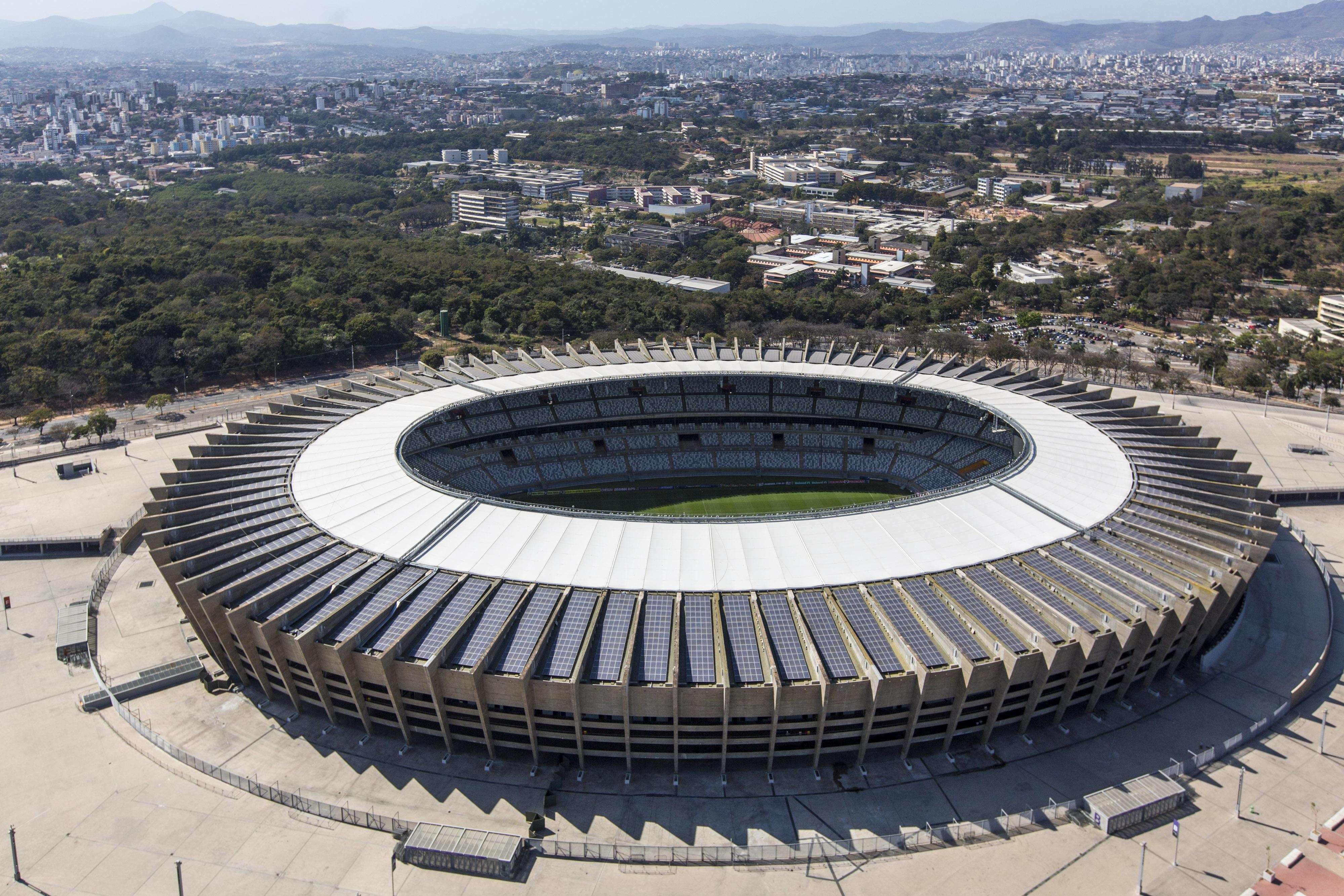 Estadio Mineirao, Belo Horizonte.