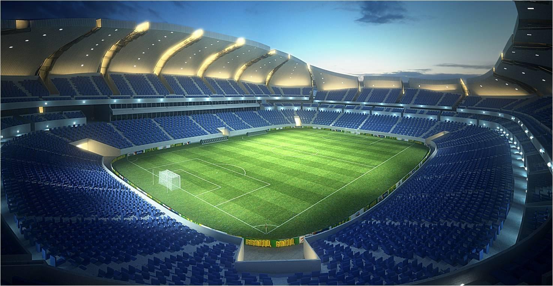 Breathtaking soccer stadium vector pics