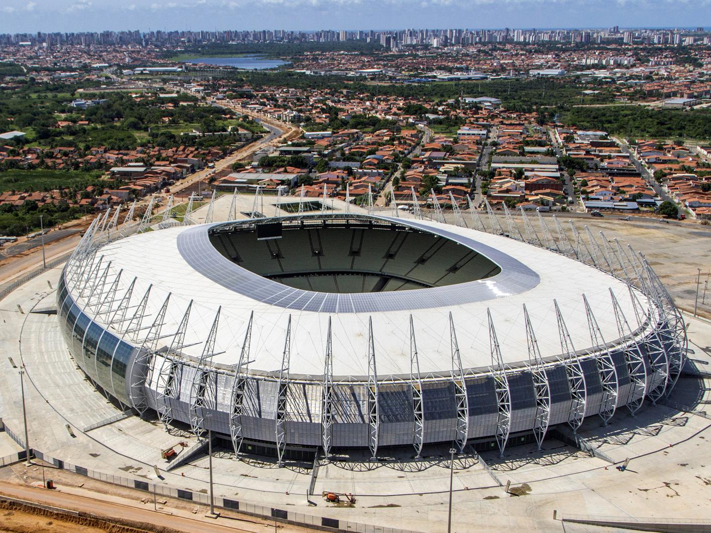Estadio Castelao, Fortaleza.