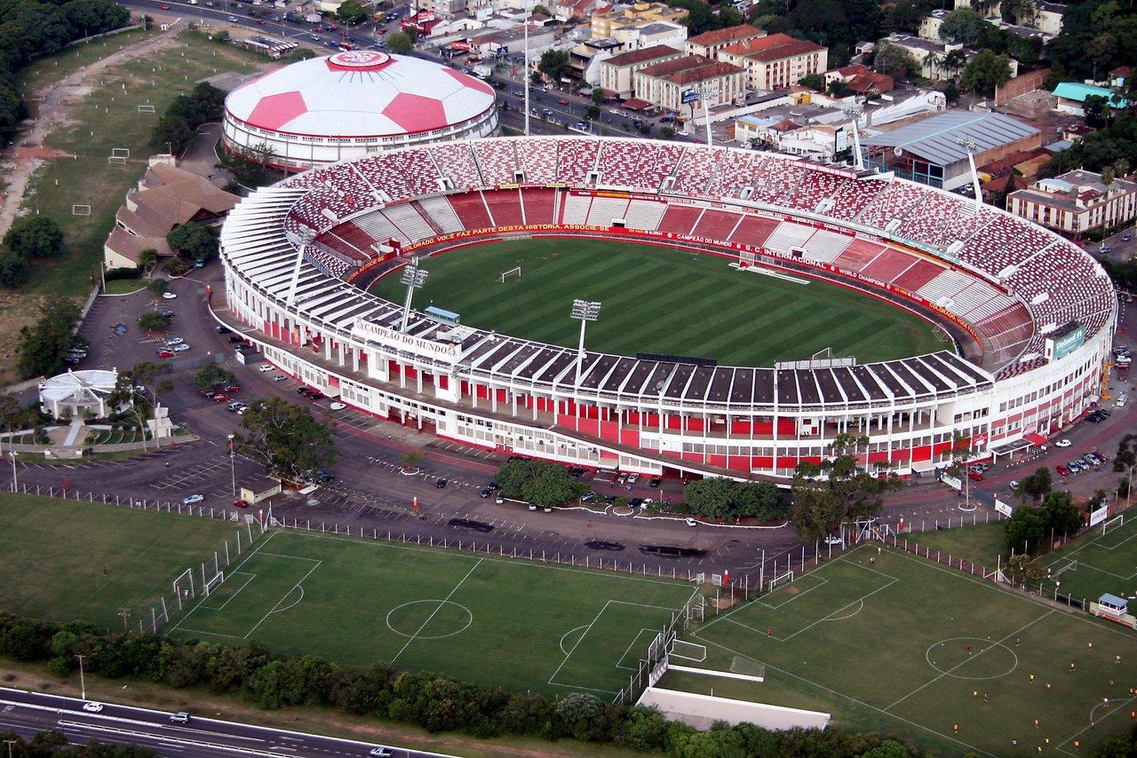 Estadio Beira-Rio was previously known as Estadio Jose Pinheiro Borda and opened in 1969.