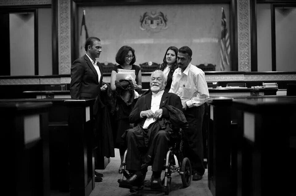 Michael was a loyal and devoted personal aide to YB Karpal Singh.