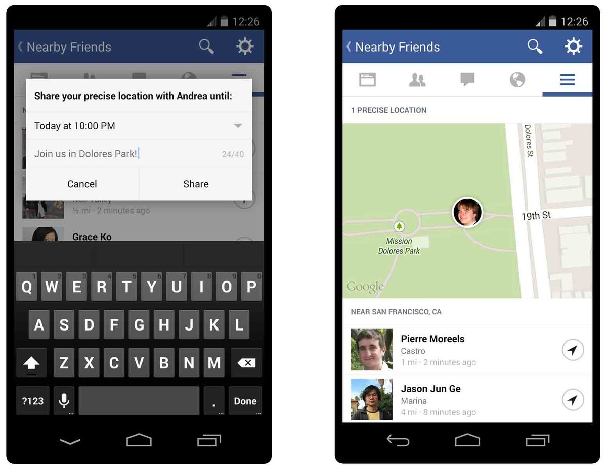 Facebook Will Use 'Nearby Friends' Feature To Track Your