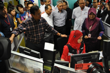 MERS 999 call centre