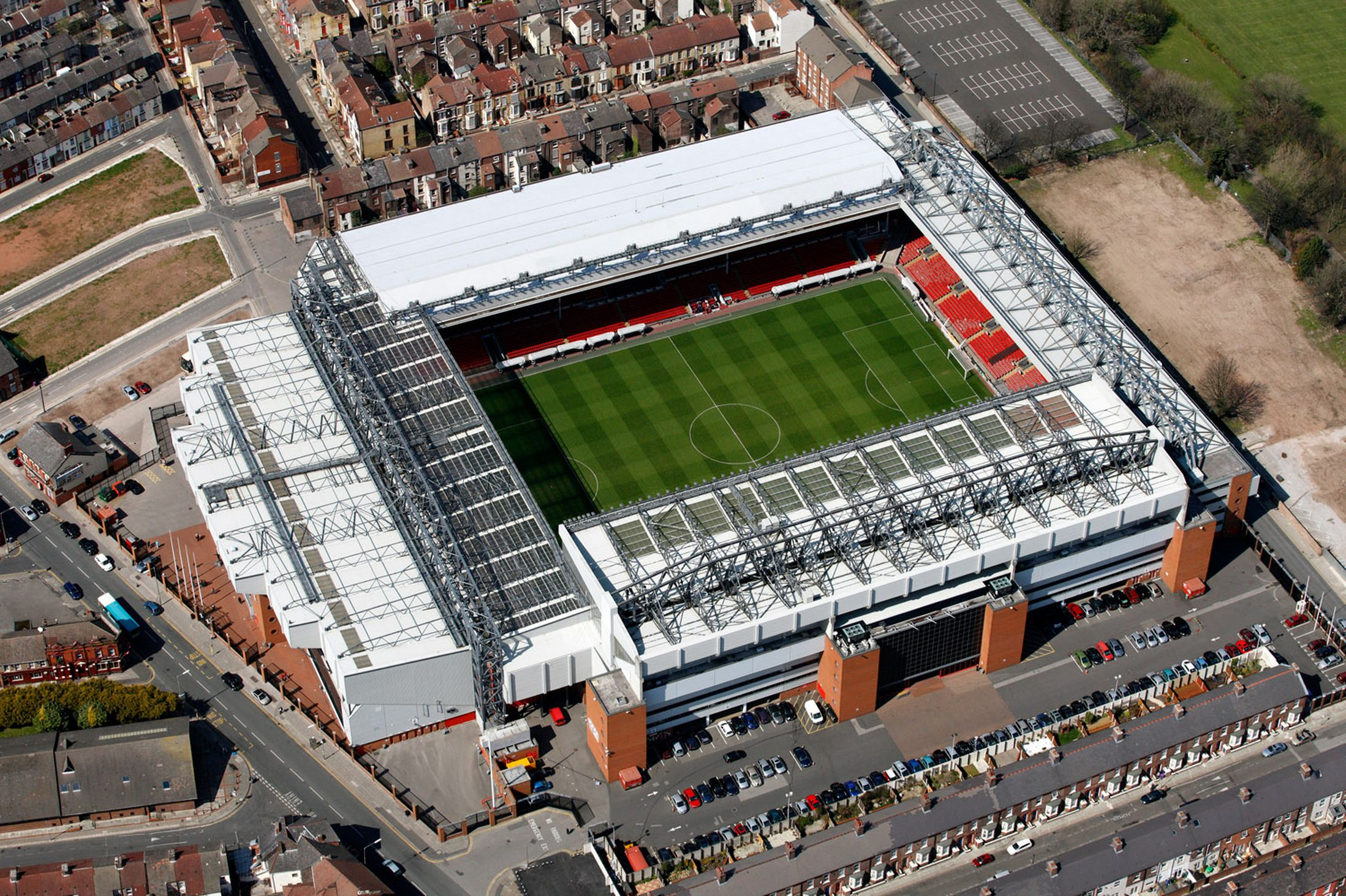 Photos Liverpool Unveils Redesigned Anfield To Seat