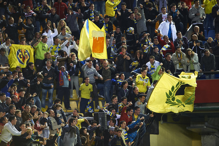 Villareal has banned the player who threw the banana