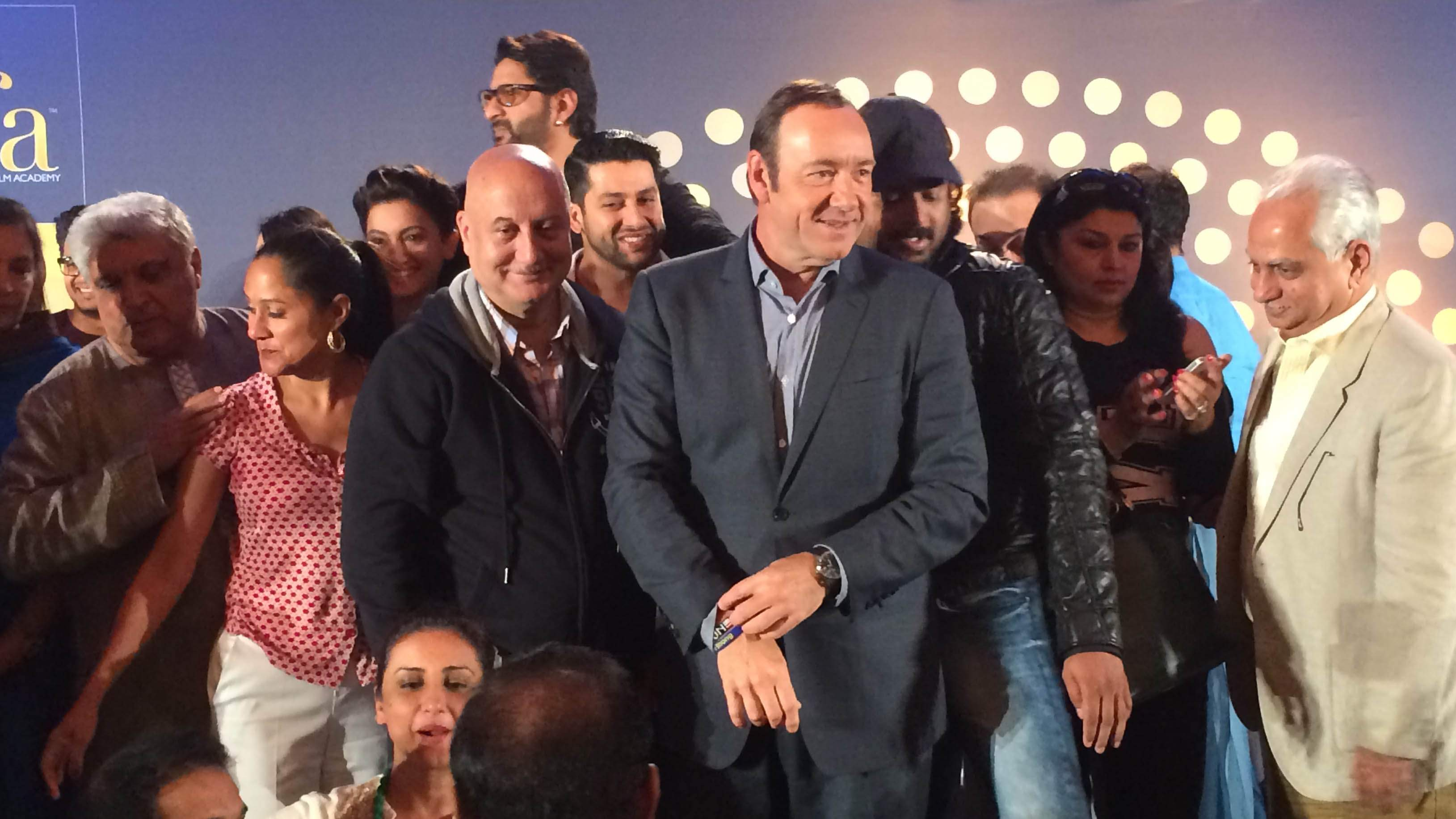 Kevin Spacey at the IFFA 2014.