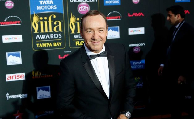 Kevin Spacey at the 2014 IIFA.