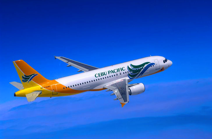 he first aircraft scheduled to take off from the airport was a Cebu Pacific Airways flight to Manila.