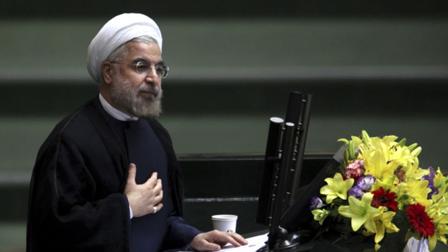 Iranian President Hasan Rouhani uses social media to communicate with the world, but his regime just banned WhatsApp