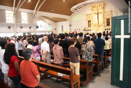 Christians in Malaysia.
