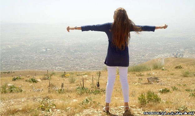 """""""This is Iran… The feeling of the wind blowing through every strand of hair, is a girl's biggest dream."""""""