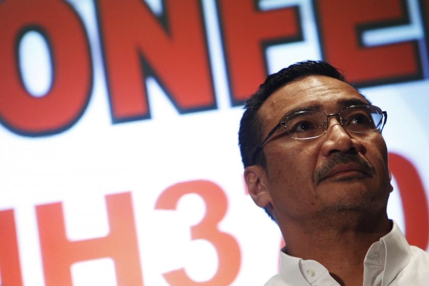 Malaysia's acting Transport Minister Datuk Seri Hishammuddin Hussein said the Malaysian military did not intercept Flight MH370 despite spotting it on its radar as the country was not in 'war mode.'