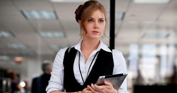 Amy Adams played Lois Lane in 'Man Of Steel' and will too in 'Batman V Superman: Dawn Of Justice'.