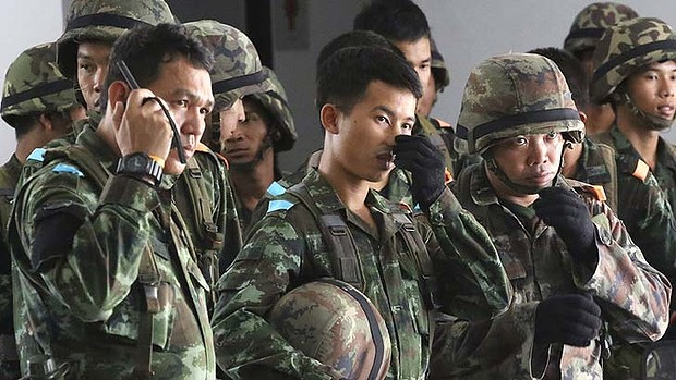 Thailand's military has launched a coup three days after insisting its troops would not stage a full takeover.