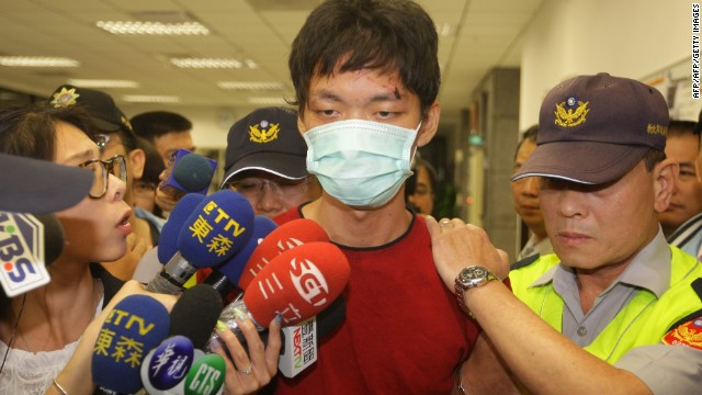 Police arrested Taiwanese college student, Cheng Chieh, Wednesday over a deadly knife attack on Taipei's subway
