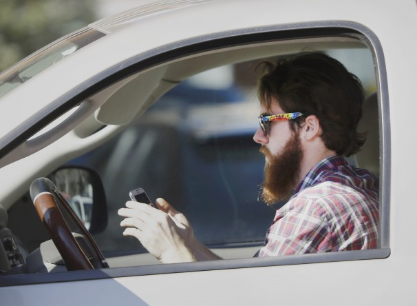 Texting while driving might not be the best idea … but it won't cause your retina to detach, at least