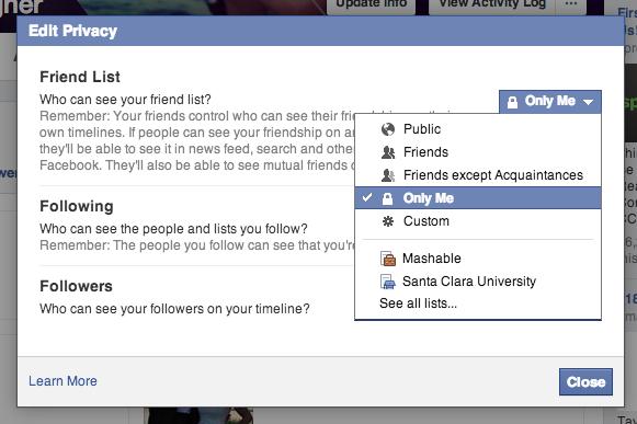What does friends except acquaintances mean