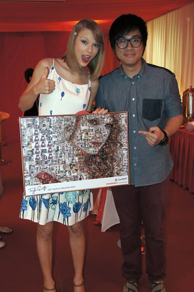 Taylor swift painted malaysia red for the very first time big thumb 16c2 the taylor swift m4hsunfo