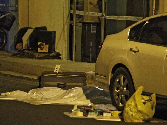 A body without legs was found in a luggage at Syed Alwi Road on June 11, 2014.