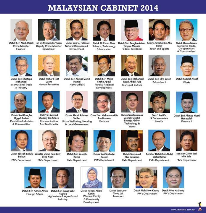 The new Cabinet line-up