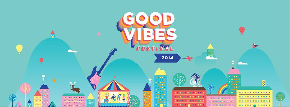 Good Vibes Festival 2014 is organised by Livescape Asia.