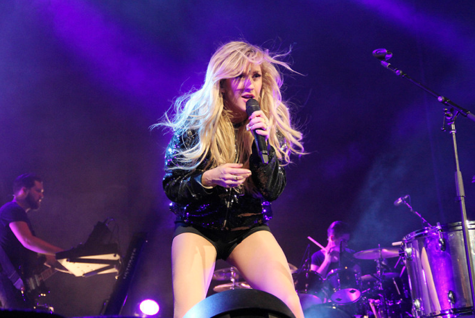 Ellie Goulding during a Philly tour stop.