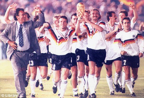 Germany are playing in their 8th World Cup final.