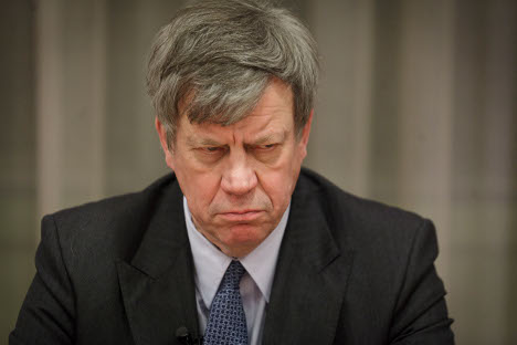Holland's Justice Minister Ivo Opstelten