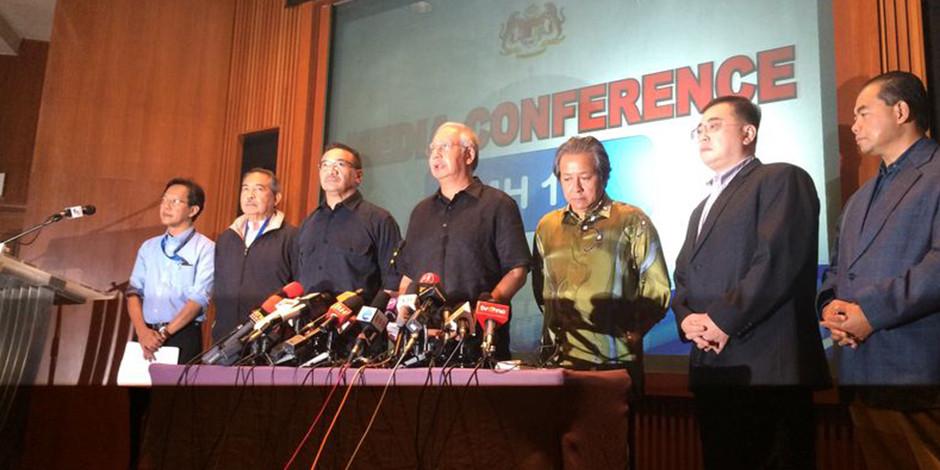 MH17 press conference
