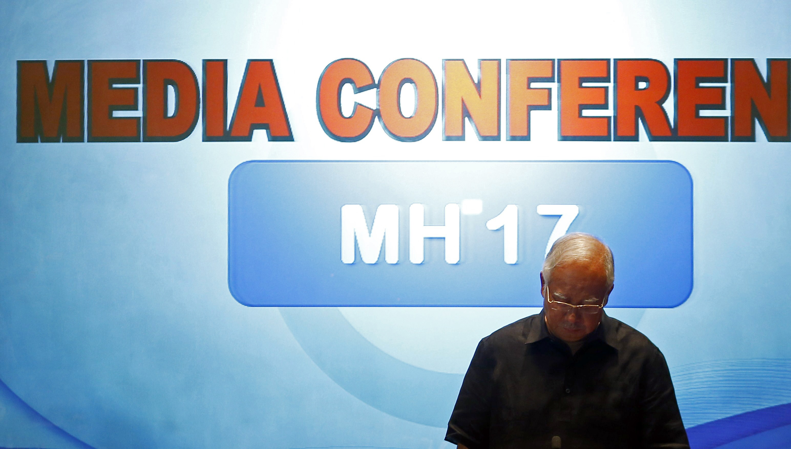 Najib Reach An Agreement With Ukraine Rebel Leader For Safe Return Of MH17 Victims