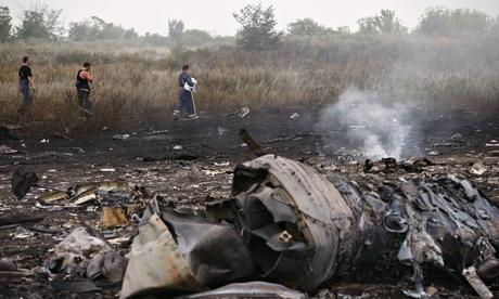 MH17 crash site.