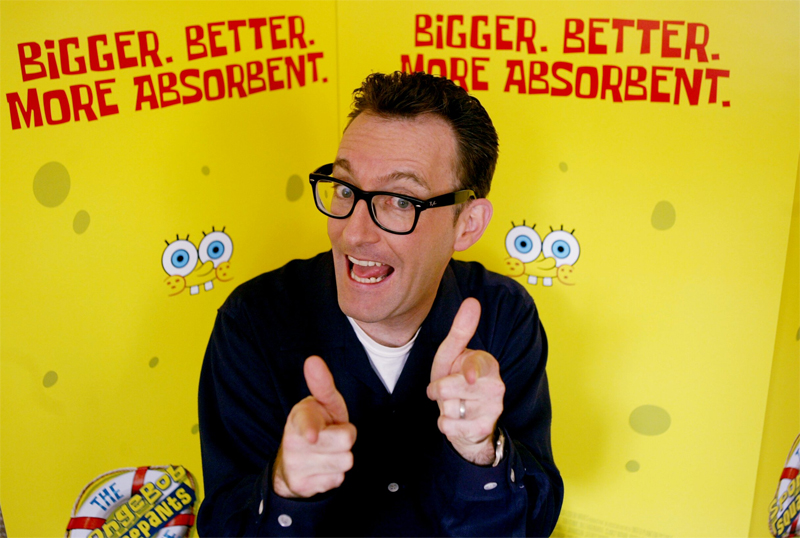 Tom Kenny will be reprising his role as Spongebob.