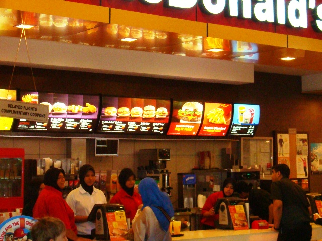Worried About The Safety Of Its Employees, McDonald's Malaysia Is Now Taking Precautionary Steps To Protect Its Employees.
