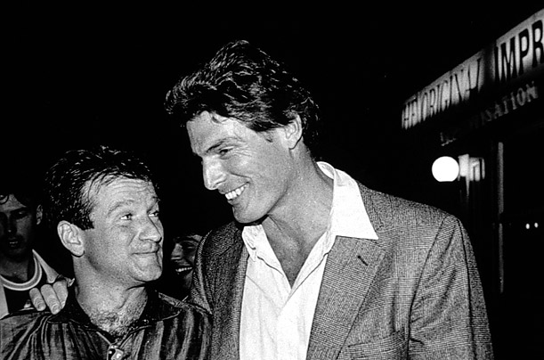 Robin Williams and Christopher Reeve were roommates at Juilliard where they studied drama and became lifelong friends.