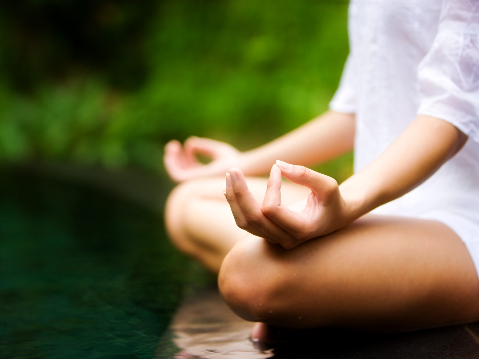 Meditation is one of the lifestyle strategies one can take to improve depressed mood.