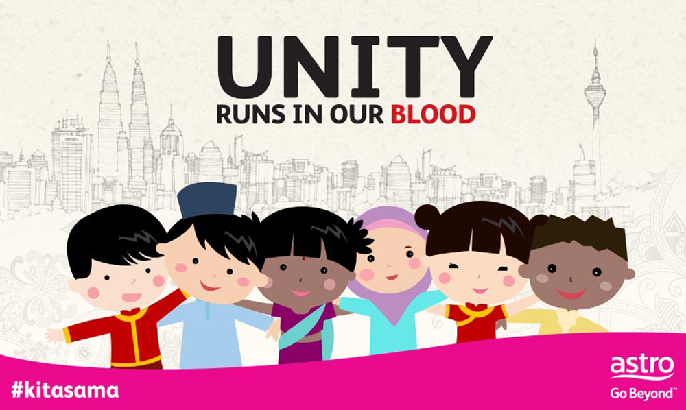 Show your commitment to a united Malaysia by donating blood at Astro's #Kitasama blood donation drive