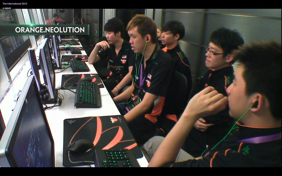 """That """"moment"""" when achieving a good draft against Tongfu in the deciding match (lower bracket semi finals)."""