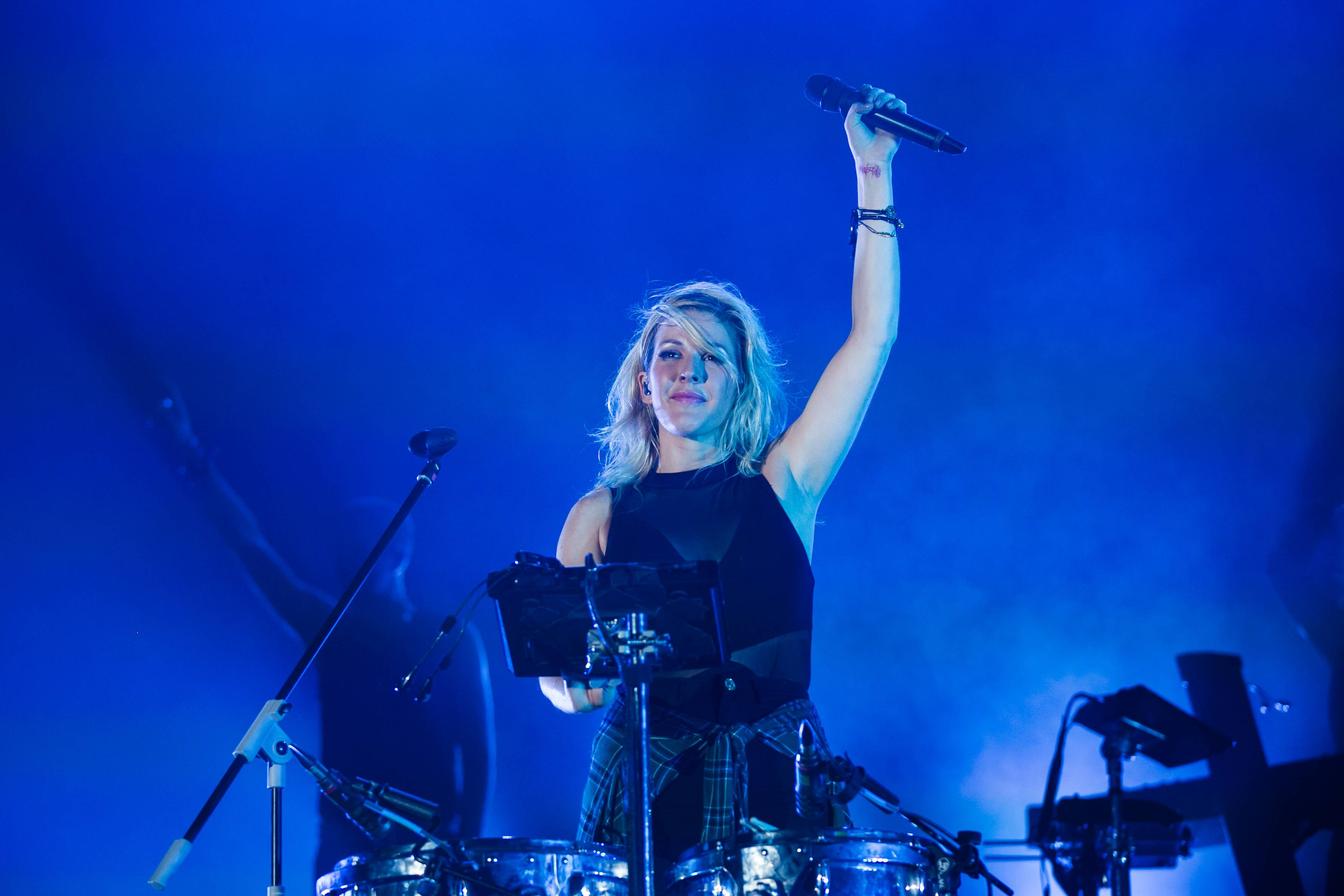 Ellie Goulding closed the night to a 8000-strong crowd.