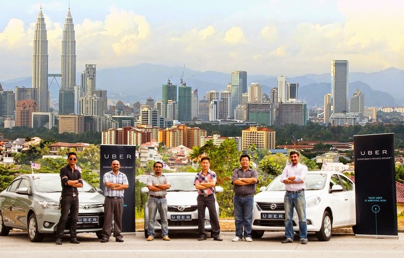 The service was recently introduced in Malaysia in 2013 and has been getting extremely popular as another alternative to the taxi