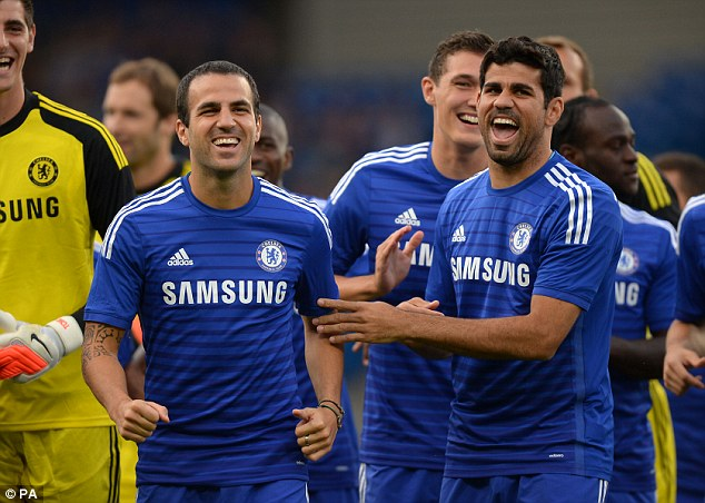 Diego Costa and Cesc Fabregas bolsters the Blues.