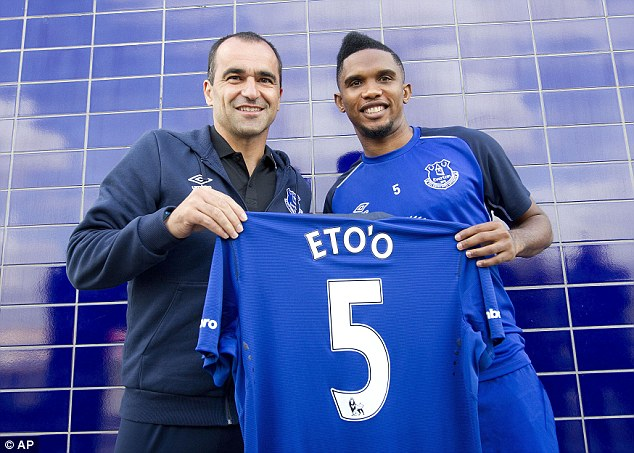 The Toffees has been busy this transfer window, signing both Samuel Eto'o and Romelu Lukaku from Chelsea