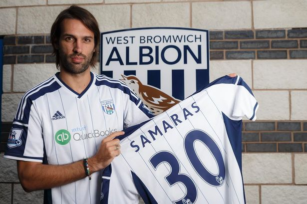 The Hawthorns managed to secure talismanic Greek striker Giorgios Samaras from Celtic on a free transfer.