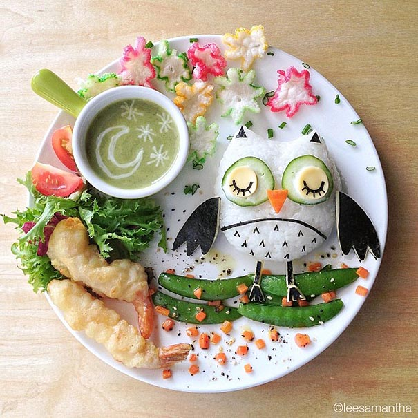 To get her fussy children to eat right, Samantha Lee created playful story-themed lunch boxes that got her kids excited for food.